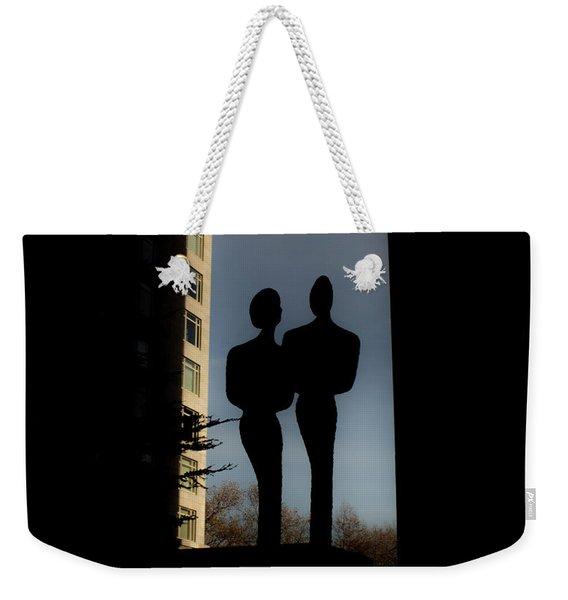 Sihlouette Weekender Tote Bag