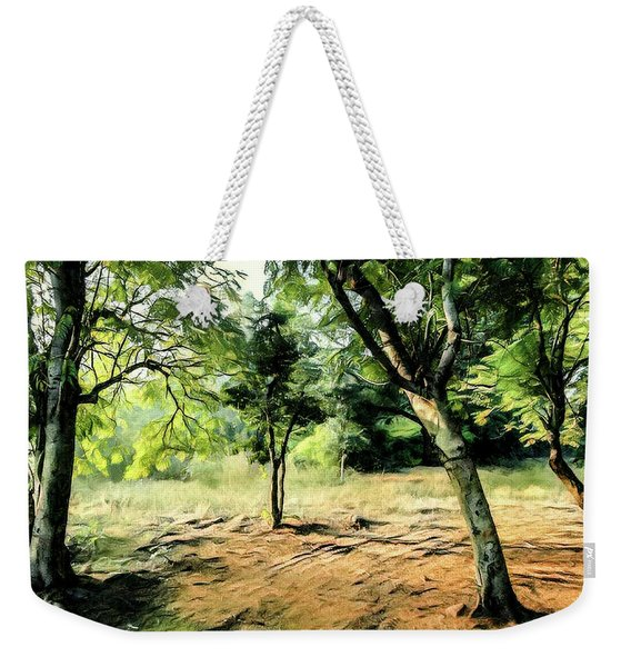 Silence Of Forest Weekender Tote Bag