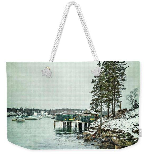 Silent Season Weekender Tote Bag