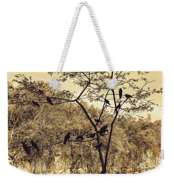 Silhoutte Weekender Tote Bag