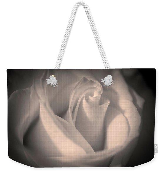 Silky Pastel Rose Weekender Tote Bag