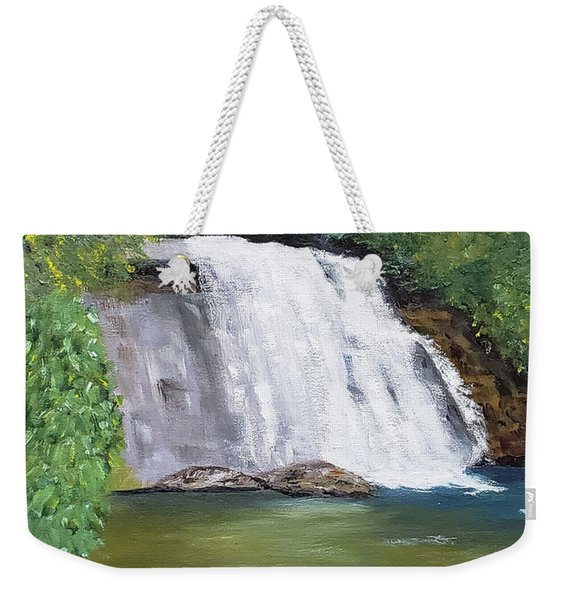 Silver Run Falls Weekender Tote Bag