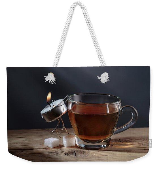 Simple Things - Couple Weekender Tote Bag