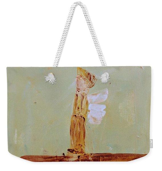 Simply Sweet Angel Boy Weekender Tote Bag