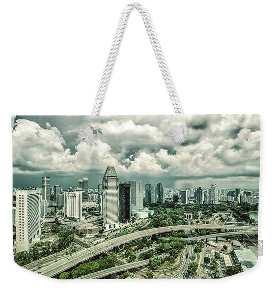 Singapore Weekender Tote Bag