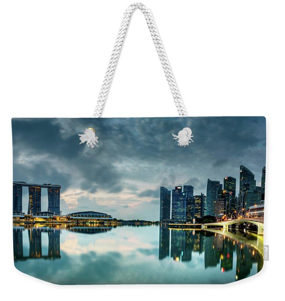 Singapore Lighst Weekender Tote Bag