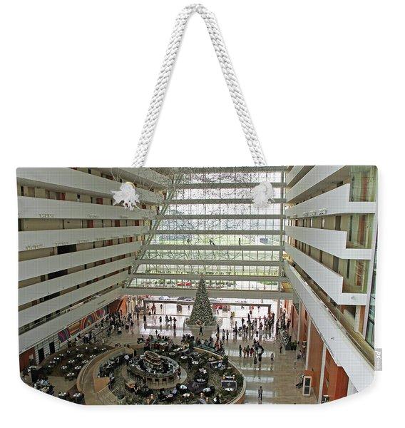 Singapore, Singapore - Marina Bay Sands Hotel 3 Weekender Tote Bag