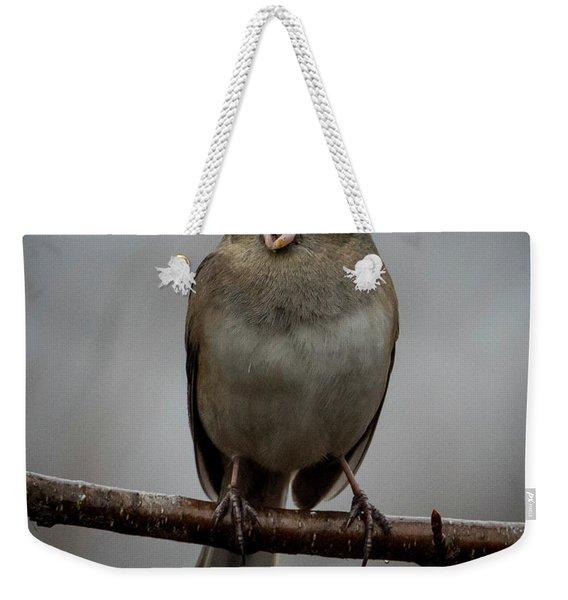 Singing Junco 2 Weekender Tote Bag