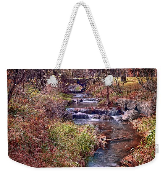 Sinoquippie Run Weekender Tote Bag
