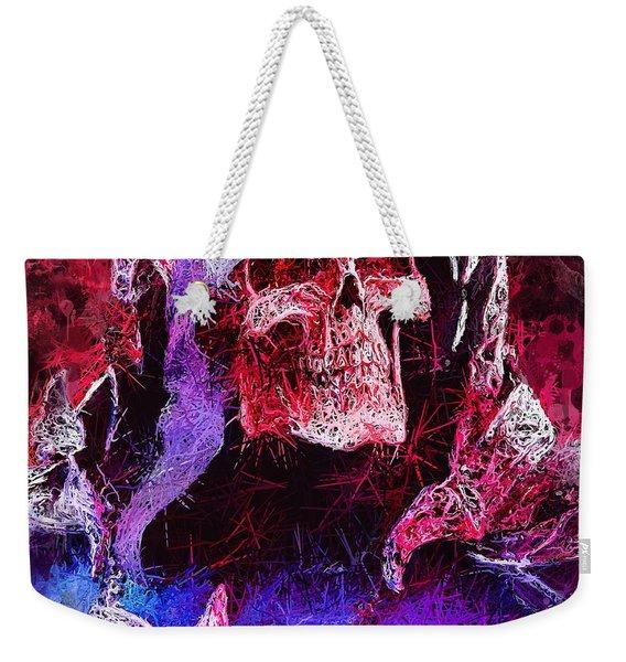 Skeletor Weekender Tote Bag