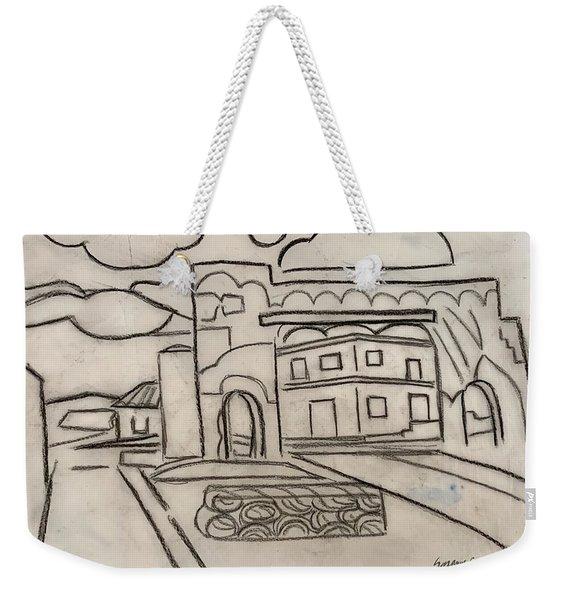 Sketch Of Arch Laguna Del Sol Weekender Tote Bag