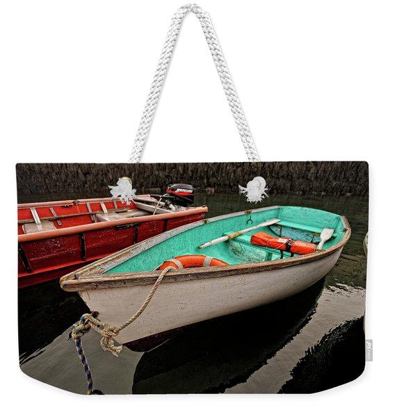 Skiffs Weekender Tote Bag