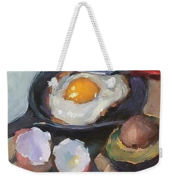 Skillet Breakfast Weekender Tote Bag