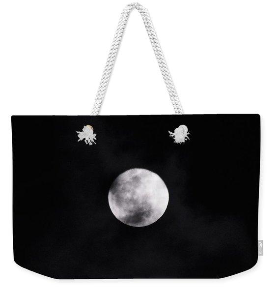 Skull Moon Weekender Tote Bag