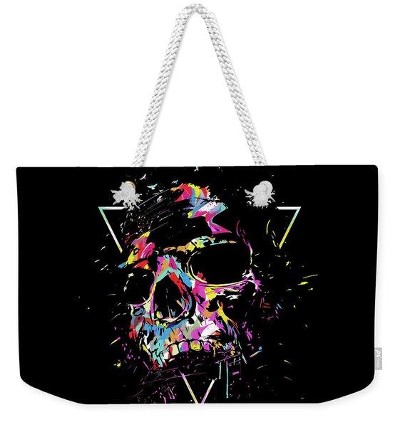 Skull X Weekender Tote Bag