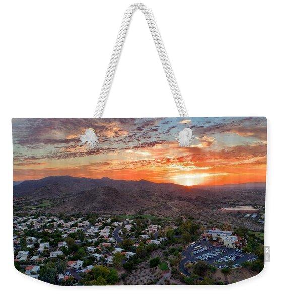 Sky Art Weekender Tote Bag