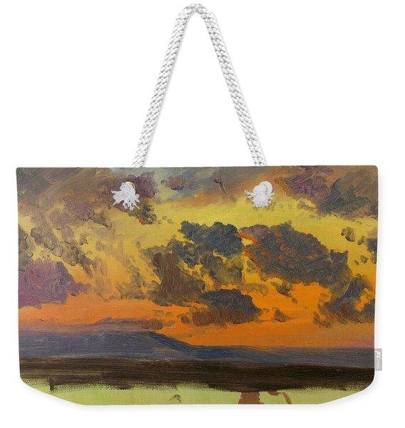 Sky At Sunset, Jamaica, West Indies - Digital Remastered Edition Weekender Tote Bag
