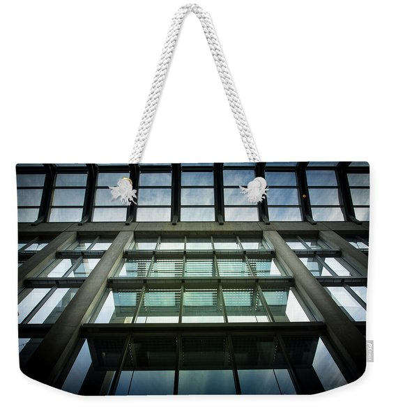 Weekender Tote Bag featuring the photograph Sky At The National Gallery Of Canada by Juan Contreras