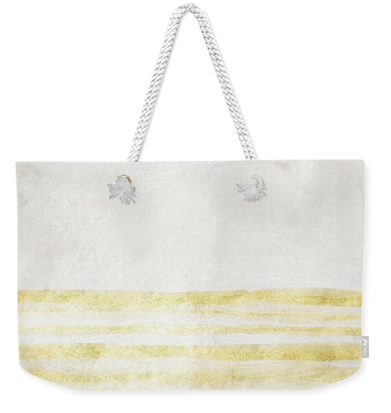 Sky Blue 1- Art By Linda Woods Weekender Tote Bag