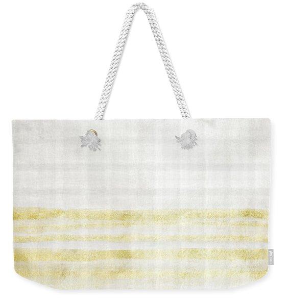 Sky Blue 2- Art By Linda Woods Weekender Tote Bag