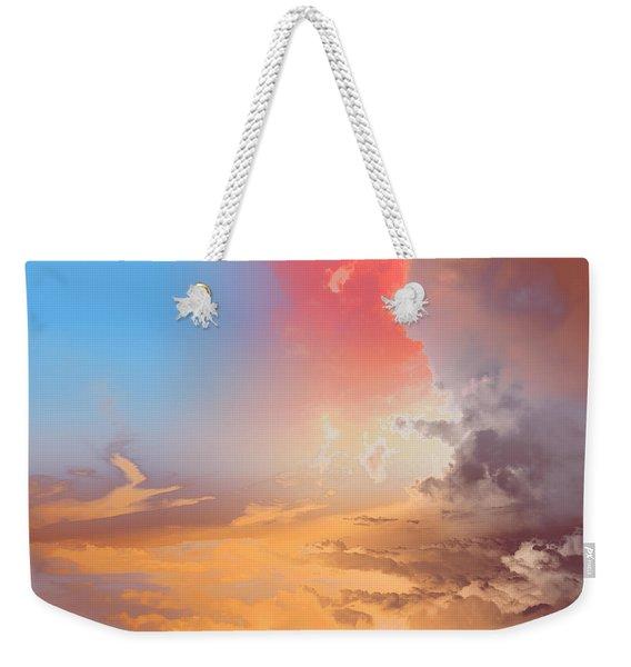 Sky Fight Weekender Tote Bag