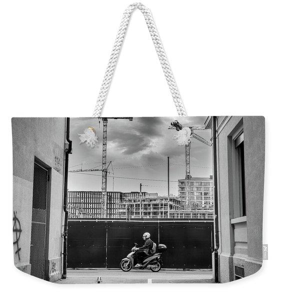 Sky Full Of Cranes Weekender Tote Bag
