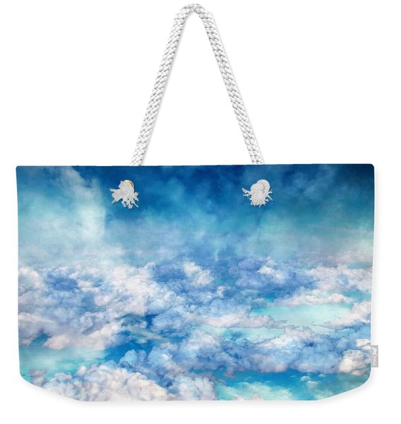 Sky Moods - A View From Above Weekender Tote Bag