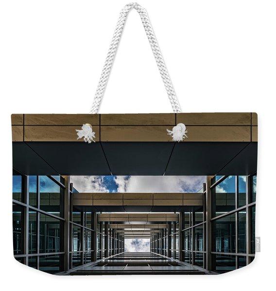 Sky Tunnel Weekender Tote Bag