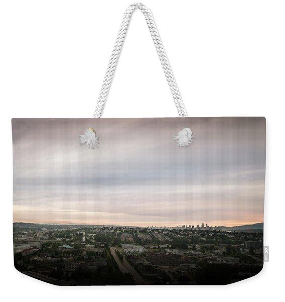 Sky View Weekender Tote Bag