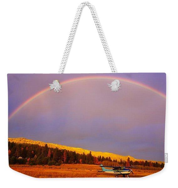 Skylane Rainbow Weekender Tote Bag
