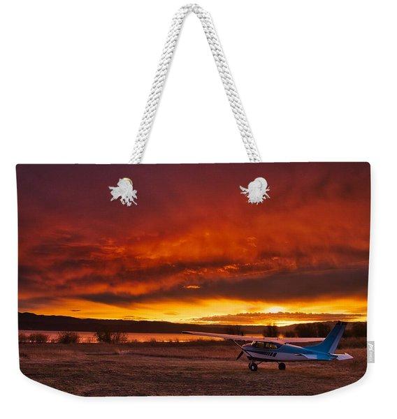 Skylane Sunrise Weekender Tote Bag