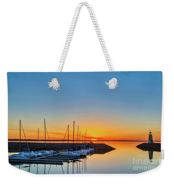 Sleeping Yachts Weekender Tote Bag