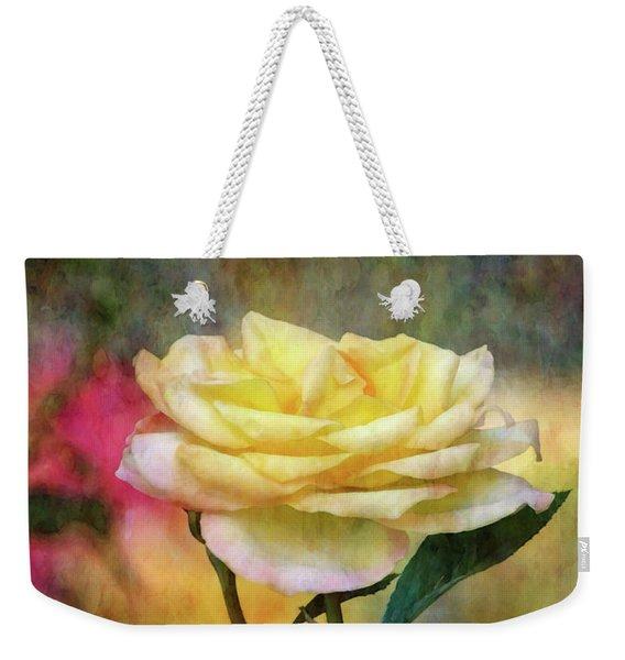 Slight Yellow 5570 Idp_2 Weekender Tote Bag
