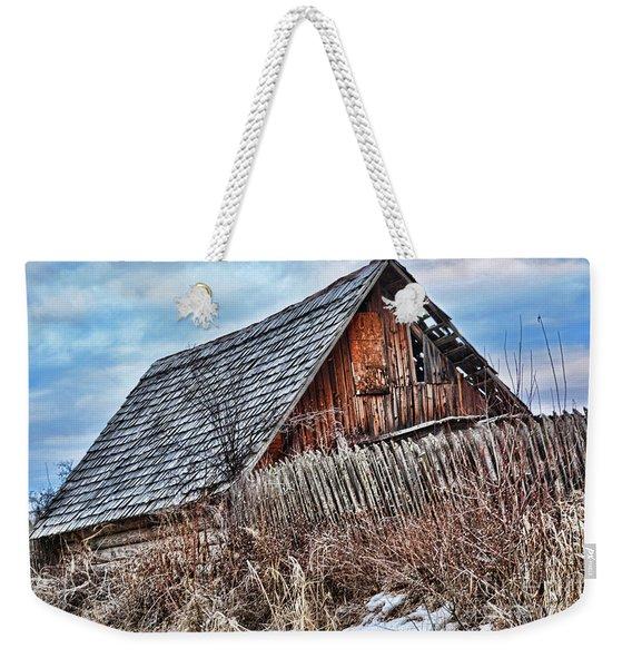 Slippery Slope Weekender Tote Bag
