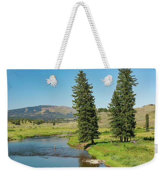 Slough Creek Weekender Tote Bag