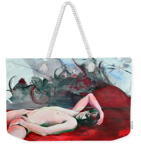 Slowly Stealing What You Long For Weekender Tote Bag