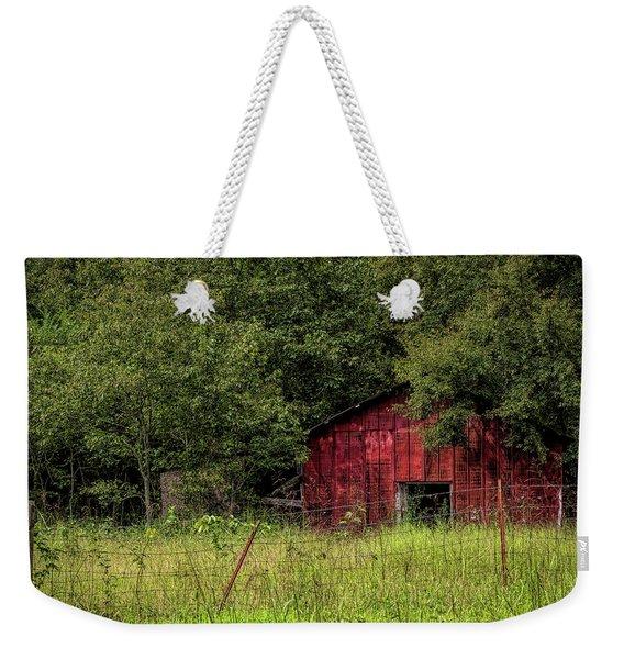 Small Barn Weekender Tote Bag