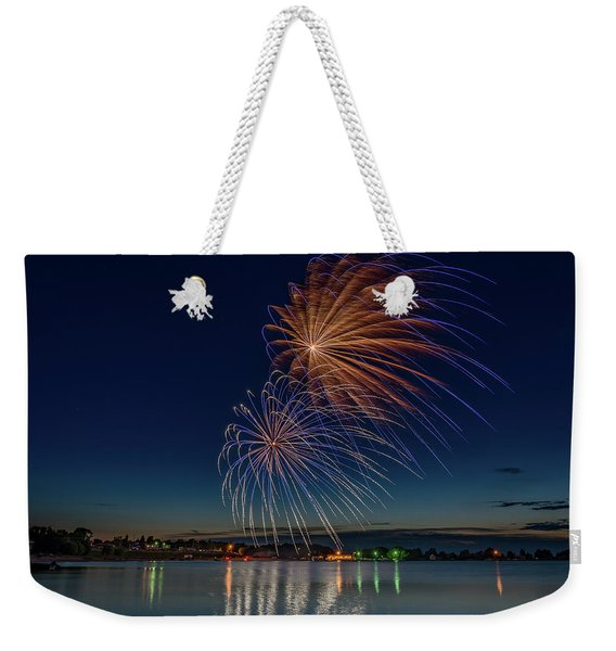 Small Town 4th Weekender Tote Bag