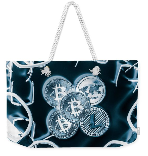 Smart Investors Weekender Tote Bag