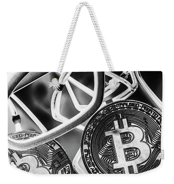 Smart Money Weekender Tote Bag
