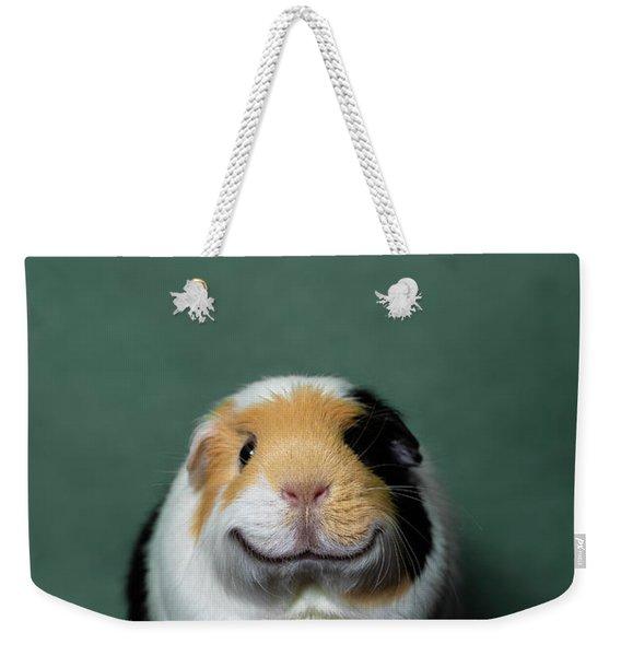 Guinea Pig Smile Weekender Tote Bag