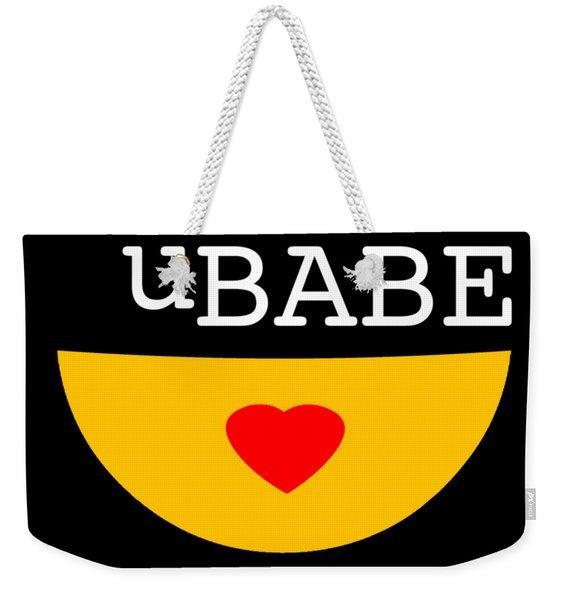 Smile Style Weekender Tote Bag