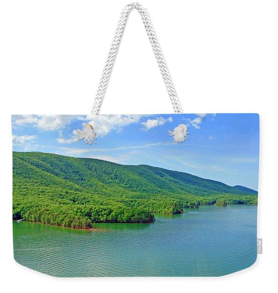 Smith Mountain Lake Weekender Tote Bag