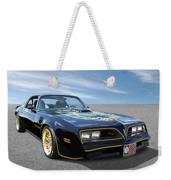 Smokey And The Bandit Trans Am Weekender Tote Bag