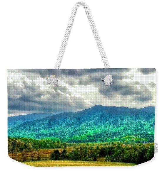 Smoky Mountain Farm Land Weekender Tote Bag