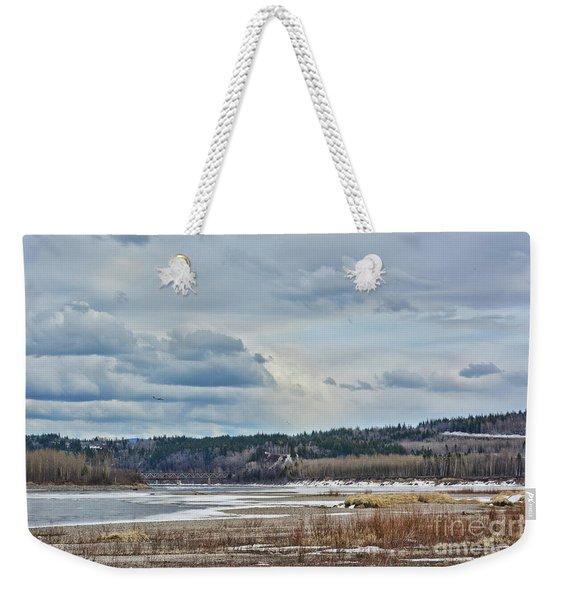 Smooth Landing  Weekender Tote Bag
