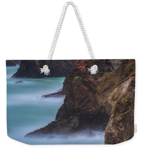 Smooth Water At Thunder Rock Weekender Tote Bag