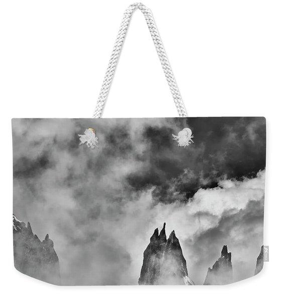 Sneaking Thru The Clouded Alps II Weekender Tote Bag