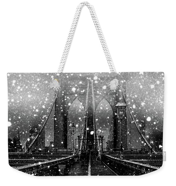 Snow Collection Set 04 Weekender Tote Bag