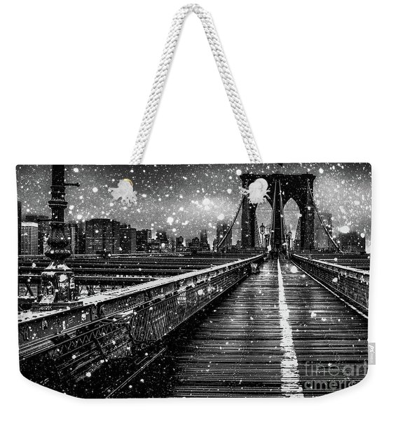 Snow Collection Set 05 Weekender Tote Bag